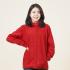 유니렉스 플리스 여성용 선홍색(자수만 가능)